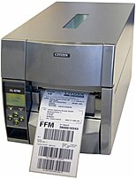 CITIZEN CL-S700DT-E Direct Thermal Barcode Label Printer - Monochrome - USB - Grey