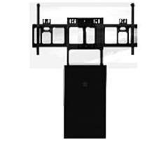 Microsoft HV6-00001 Wall Mount for Interactive Display - 55' Screen Support - 110 lb Load Capacity - Black