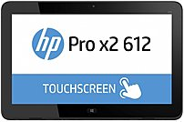 HP Pro P3E15UT Tablet PC - Intel Core i5-4302Y 1.6 GHz Dual-Core Processor - 8 GB DDR3 SDRAM - 256 GB Solid State Drive - 12.5-inch Touchscreen Display - Windows 10 Pro 64-bit - Black