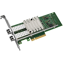 Intel Ethernet Converged Network Adapter X520-SR2 - PCI Express x8 - 2 Port - 10GBase-SR - Internal - Full-height, Low-profile