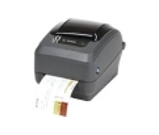 Zebra GX430t Thermal Transfer Printer - Monochrome - Desktop - Label Print - 4.09' Print Width - 4 in/s Mono - 300 dpi - 8 MB - USB - Serial - Ethernet - 4.25' Label Width - 39' Label Length