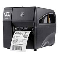 Zebra ZT220 Direct Thermal/Thermal Transfer Printer - Monochrome - Desktop - Label Print - 4.09' Print Width - 6 in/s Mono - 203 dpi - 128 MB - USB - Serial - Ethernet - 4.50' Label Width - 39' Label