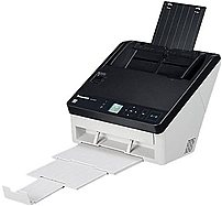 Panasonic KV-S1057C-V Document Scanner - 65 ppm - 130 ipm - 200/300 dpi - USB 3.0 - 120V AC- Black/White