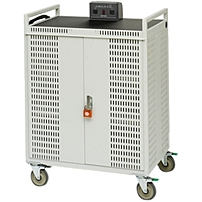 Bretford 42-Unit Intelligent Netbook Cart - 4 Casters - 5' Caster Size - Steel - 33' Width x 28.5' Depth x 45' Height