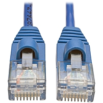 Tripp Lite 4ft Cat5e Cat5 Snagless Molded Slim UTP Patch Cable RJ45 M/M Blue 4' - Category 5e for Network Device, Switch, Router, Server, Modem, Printer - Patch Cable - 4 ft - 1 x RJ-45 Male Network -