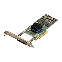 ATTO ExpressSAS R680 8-port SAS RAID Controller - Serial ATA/600 - PCI Express 2.0 x8 - Plug-in Card - RAID Supported - 0, 1, 4, 5, 6, 10, 50, JBOD, 60, 40, DVRAID RAID Level - 2 Total SAS Port(s) - 2