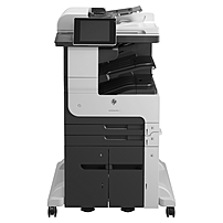 HP LaserJet 700 M725Z+ Laser Multifunction Printer - Monochrome - Plain Paper Print - Floor Standing - Copier/Fax/Printer/Scanner - 41 ppm Mono Print - 1200 x 1200 dpi Print - Automatic Duplex Print -