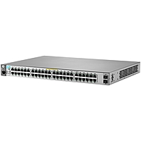 HP 2530-48G-2SFP+ Switch - Manageable - 2 Layer Supported - 1U High - Rack-mountable, Wall Mountable