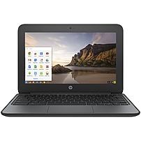 HP Chromebook 11 G4 EE 11.6' Chromebook - Intel Celeron N2840 Dual-core (2 Core) 2.16 GHz - 4 GB DDR3L SDRAM - 16 GB Flash Memory - Chrome OS (English) - 1366 x 768 - Intel HD Graphics DDR3L SDRAM - B