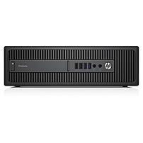 HP Business Desktop ProDesk 600 G2 Desktop Computer - Intel Core i5 (6th Gen) i5-6500 3.20 GHz - 8 GB DDR4 SDRAM - 256 GB SSD - Windows 7 Professional 64-bit - Small Form Factor - Intel HD Graphics 53