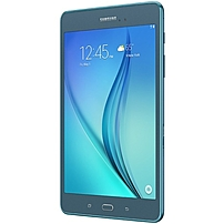 Samsung Galaxy Tab A SM-T350 Tablet - 8' - 1.50 GB - Qualcomm Snapdragon 410 APQ8016 Quad-core (4 Core) 1.20 GHz - 16 GB - Android 5.0 Lollipop - 1024 x 768 - Plane to Line (PLS) Switching - Smoky Blu