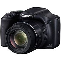 Canon PowerShot SX530 HS 16 Megapixel Compact Camera - Black - 3' LCD - 16:9 - 50x Optical Zoom - 4x - Optical (IS) - TTL - 4608 x 3456 Image - 1920 x 1080 Video - HDMI - PictBridge - HD Movie Mode -