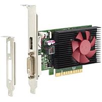 HP GeForce GT 730 Graphic Card - 900 MHz Core - 2 GB DDR3 SDRAM - PCI Express x8 - Low-profile - Fan Cooler - OpenGL 4.4, OpenCL 2.0, DirectX 12, DirectCompute 11 - 1 x DisplayPort - 1 x Total Number