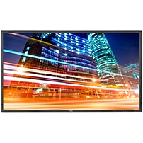 NEC Monitor 55' LED Backlit Professional-Grade Large Screen Monitor with Integrated Tuner - 55' LCD - 1920 x 1080 - Edge LED - 700 Nit - 1080p - HDMI - DVI - SerialEthernet