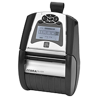 Zebra QLN320 Direct Thermal Printer - Monochrome - Portable - Label Print - 2.90' Print Width - Peel Facility - 3 in/s Mono - 203 dpi - 128 MB - Bluetooth - USB - Serial - Battery Included - LCD - 3.1