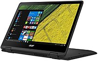 Acer NX.GK4AA.001 SP513-51-51PB Spin 2-in-1 Convertible Laptop PC - Intel Core i5-6200U 2.3 GHz Dual-Core Processor - 8 GB DDR4 RAM - 256 GB Solid State Drive - 13.3-inch Touchscreen Display - Windows