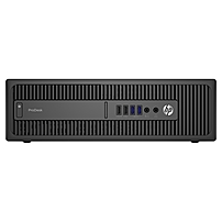 HP Business Desktop ProDesk 600 G2 Desktop Computer - Intel Core i7 (6th Gen) i7-6700 3.40 GHz - 8 GB DDR4 SDRAM - 256 GB SSD - Windows 7 Professional 64-bit upgradable to Windows 10 Pro - Small Form