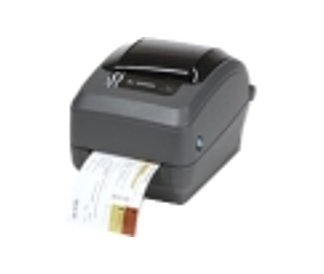 Zebra GX430t Direct Thermal/Thermal Transfer Printer - Monochrome - Desktop - Label Print - 4.09' Print Width - 4 in/s Mono - 300 dpi - 8 MB - Wireless LAN - USB - Serial - LCD - 4.25' Label Width - 3