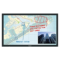 Panasonic TH-65BF1U 65' LCD Touchscreen Monitor - 16:9 - 6.50 ms - Infrared - Multi-touch Screen - 1920 x 1080 - Full HD - 50,000:1 - 350 Nit - Edge LED Backlight - Speakers - DVI - HDMI - USB - VGA -