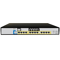 AudioCodes Mediant 800B VoIP Gateway - 4 x FXS - 4 x FXO - Gigabit Ethernet - E-carrier, T-carrier - 1U High - Rack-mountable