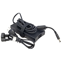 Dell-IMSourcing 130-Watt 3-Prong AC Adapter with 6 Ft Cord - 130 W Output Power - 120 V AC, 230 V AC Input Voltage - 19.5 V DC Output Voltage - 6.67 A Output Current
