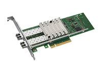 Intel Ethernet Converged Network Adapter X520-SR2 - PCI Express x8 - 2 Port(s) - Optical Fiber - Low-profile, Full-height - Bulk