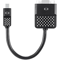 Belkin Mini DisplayPort/DVI Video Cable - DVI/Mini DisplayPort for Video Device, Notebook, TV, MacBook, Ultrabook, Tablet PC, Monitor, Projector - 1 Pack - Mini DisplayPort Male Digital Audio/Video -
