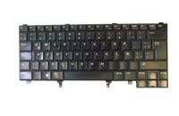 Dell 0HF3RP Latitude Replacement Spanish Keyboard - Black