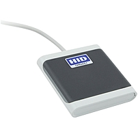 HID OMNIKEY 5025 CL Reader - Contactless - CableUSB 2.0 Light Gray