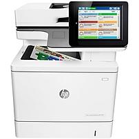 HP LaserJet M577dn Laser Multifunction Printer - Color - ...