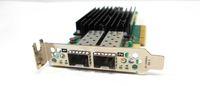 Solarflare Flareon Ultra SFN8522 Server Adapter - PCI Express 3.1 x8 - 2 Port(s) - Optical Fiber