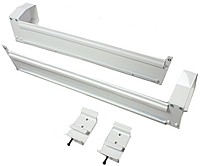 Draper Mounting Bracket for Projector Screen - White