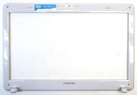 Toshiba V000240100 LCD Bezel for Satellite L630 Laptop PC - White