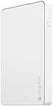 mophie Powerstation Power Bank - For USB Device, Camera, Smartphone, Tablet PC, Smartwatch, Mobile Device - Lithium Polymer (Li-Polymer) - 6000 mAh - 2.10 A - 5 V DC Output - 5 V DC Input - 3 x - Whit