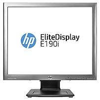 HP Elite E190i 18.9' LED LCD Monitor - 5:4 - 14 ms - Adjustable Monitor Angle - 1280 x 1024 - 16.7 Million Colors - 250 Nit - 3,000,000:1 - SXGA - DVI - VGA - MonitorPort - USB - 28 W - Black - TCO Ce