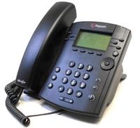 Polycom VVX 300 IP Phone - Cable - Desktop - 6 x Total Line - VoIP - Speakerphone - 2 x Network (RJ-45) - PoE Ports