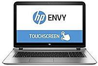 HP ENVY W8X31UA 17-s013ca Notebook PC - Intel Core i7-6500U 2.5 GHz Dual-Core Processor - 16 GB DDR3L SDRAM - 2 TB Hard Drive - 17.3-inch Touchscreen Display - Windows 10 Home 64-bit - Natural Silver