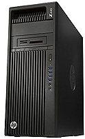 HP N3D46EC Z440 Workstation PC - Intel Xeon E5-1620V3 3.5 GHz Quad-Core Processor - 64 GB DDR4 SDRAM - 512 GB Solid State Drive - 1 TB Hard Drive - DVD - Windows 7 Professional, Windows 8.1 Pro 64-bit