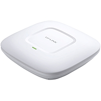 TP-LINK EAP220 IEEE 802.11n 600 Mbit/s Wireless Access Point - 2.40 GHz, 5 GHz - 4 x Internal Antenna(s) - MIMO Technology - 1 x Network (RJ-45) - PoE Ports - Ceiling Mountable