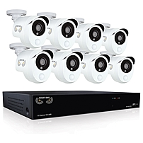 Night Owl B-10PH-881-PIR Video Surveillance System - Digital Video Recorder, Camera - 1 TB Hard Drive - 30 Fps - 1080 - Composite Video In - 4 Audio In - 1 Audio Out - 1 VGA Out - HDMI