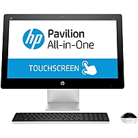 HP Pavilion 23-q000 23-q067c All-in-One Computer - Intel Core i5 (4th Gen) i5-4590T 2 GHz - 8 GB DDR3L SDRAM - 1 TB HDD - 23' 1920 x 1080 Touchscreen Display - Windows 8.1 64-bit - Desktop - DVD-Write