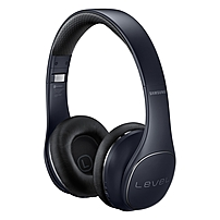 Samsung Level On Wireless Pro Headphones, Black - Stereo - Black - Mini-phone - Wired/Wireless - Bluetooth - Over-the-head - Binaural - Circumaural - 3.94 ft Cable - Yes