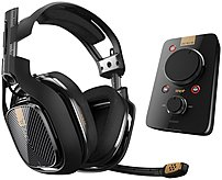 Astro Gaming 3AS4T-AGU9N-506 A40 TR Headset with MixAmp Pro TR for PlayStation 4, PC and Mac - Black