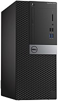 Dell OptiPlex 7D9K7 3040 Mini Tower Desktop PC - Intel Core i5-6500 3.2 GHz Quad-Core Processor - 4 GB DDR3L SDRAM - 500 GB Hard Drive - Windows 7 Professional 64-bit - Black