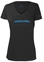 Alienware AWSWDL Space-Age Gaming Gear T-Shirt - Large - Ladies - Gray