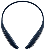LG Electronics TONE ULTRA HBS-820.ACUSNBI HBS-820 Premium Bluetooth Wireless Stereo Headset with Dual MEMS Microphone - Navy Blue