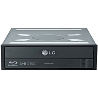 LG BH16NS40 Blu-ray Writer - BD-R/RE Support - 16x CD Read/48x CD Write/24x CD Rewrite - 12x BD Read/16x BD Write/12x BD Rewrite - 16x DVD Read/16x DVD Write/8x DVD Rewrite - Double-layer Media Suppor