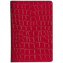 Verso Darwin Carrying Case for Digital Text Reader, Tablet PC - Red - Faux Leather, MicroFiber Interior - Crocodile Texture - 8.2' Height x 5.5' Width x 0.8' Depth