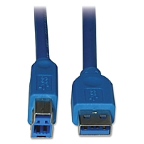 Tripp Lite 10ft USB 3.0 SuperSpeed Device Cable 5 Gbps A Male to B Male - (AB M/M) 10-ft.