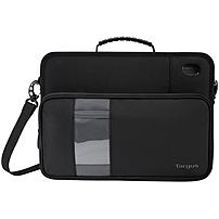 Targus Work-In TKC001D Carrying Case (Briefcase) for 11.6' Notebook, Chromebook - Black - Knock Resistant, Drop Resistant, Scratch Resistant Interior, Dust Resistant Interior, Anti-slip Base, Skid Pro